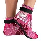 BPS 'Storm Smart Sock' Neoprene Diving Socks - with Anti-Slip Sole - Unisex Neoprene Socks for Sand Volleyball, Surfing, Scuba Diving, Fin Socks - Low Cut