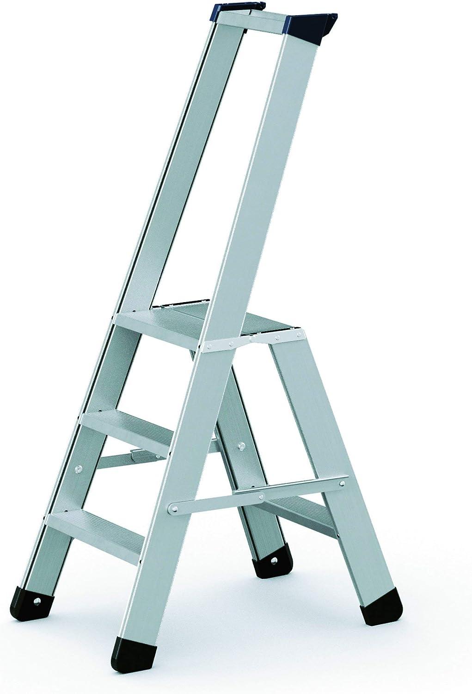 Zarges aleación-escalera con seguridad puente Seventec 311 Z500 40333: Amazon.es: Bricolaje y herramientas