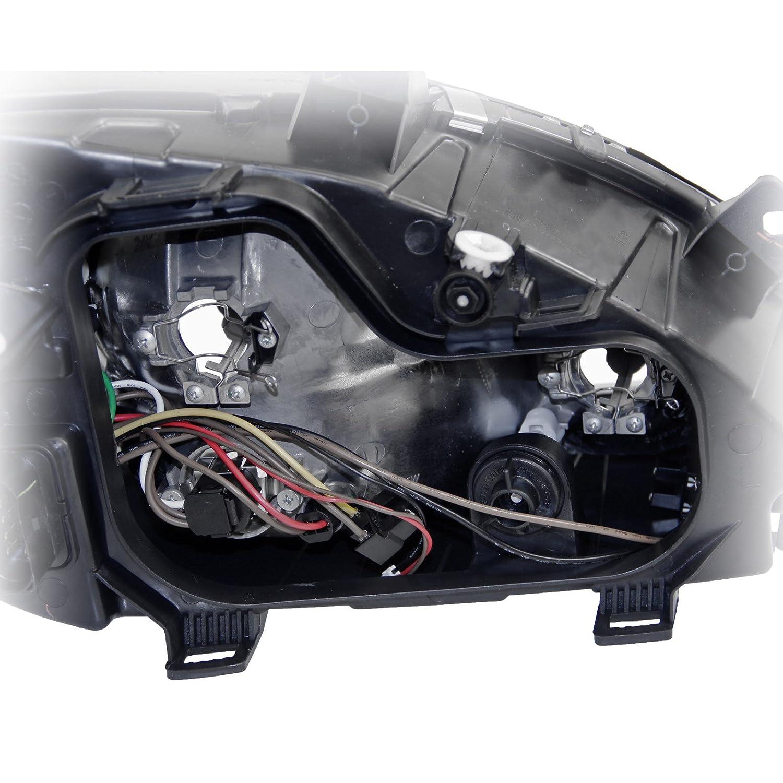 2x Scheinwerfer H7//H7//H7 mit Nebelscheinwerfer links rechts,
