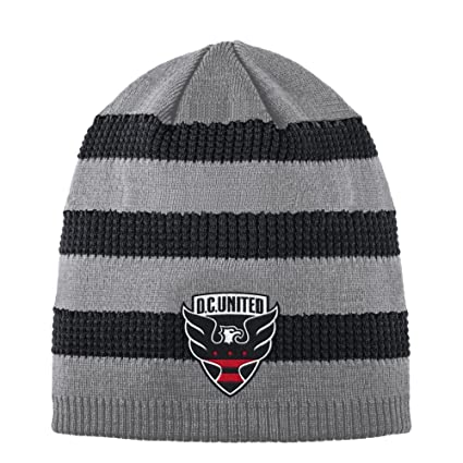 d20682b7077 Amazon.com   adidas D.C. United Beanie Authentic Textured Knit Cap ...