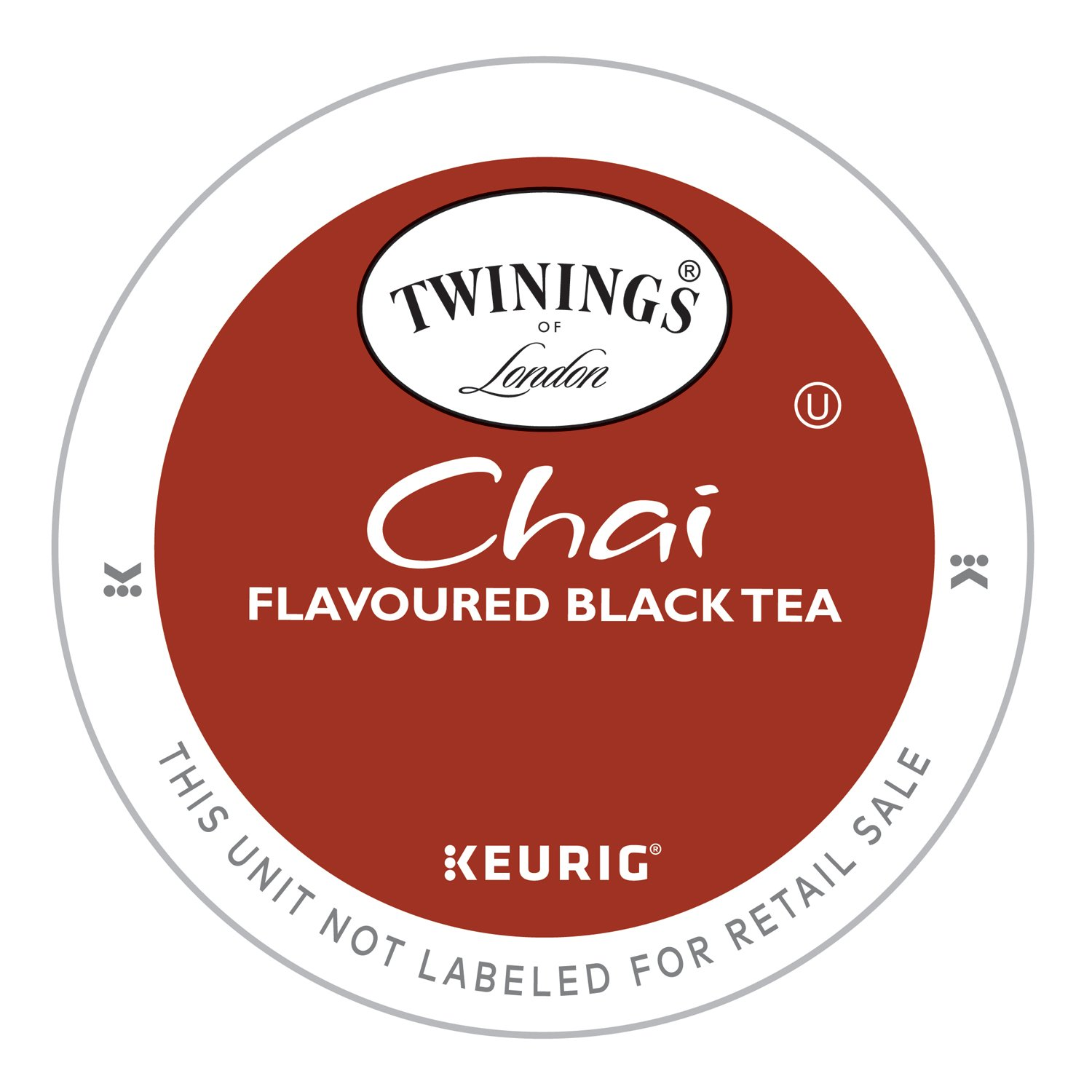 Twinings of London Chai Tea K-Cups for Keurig, 24 Count (Pack of 4)