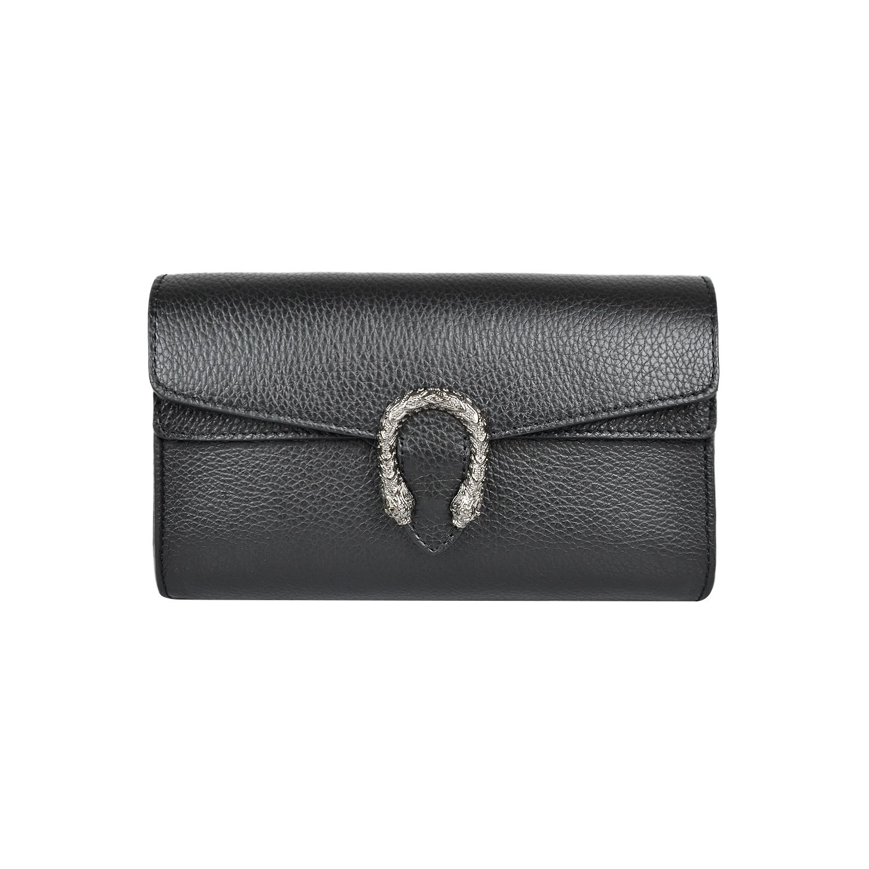 Italian cross body chain bag, designer evening purse, shoulder bag, handbag, flap bag, suede genuine leather (Clutch, Pebbled black)