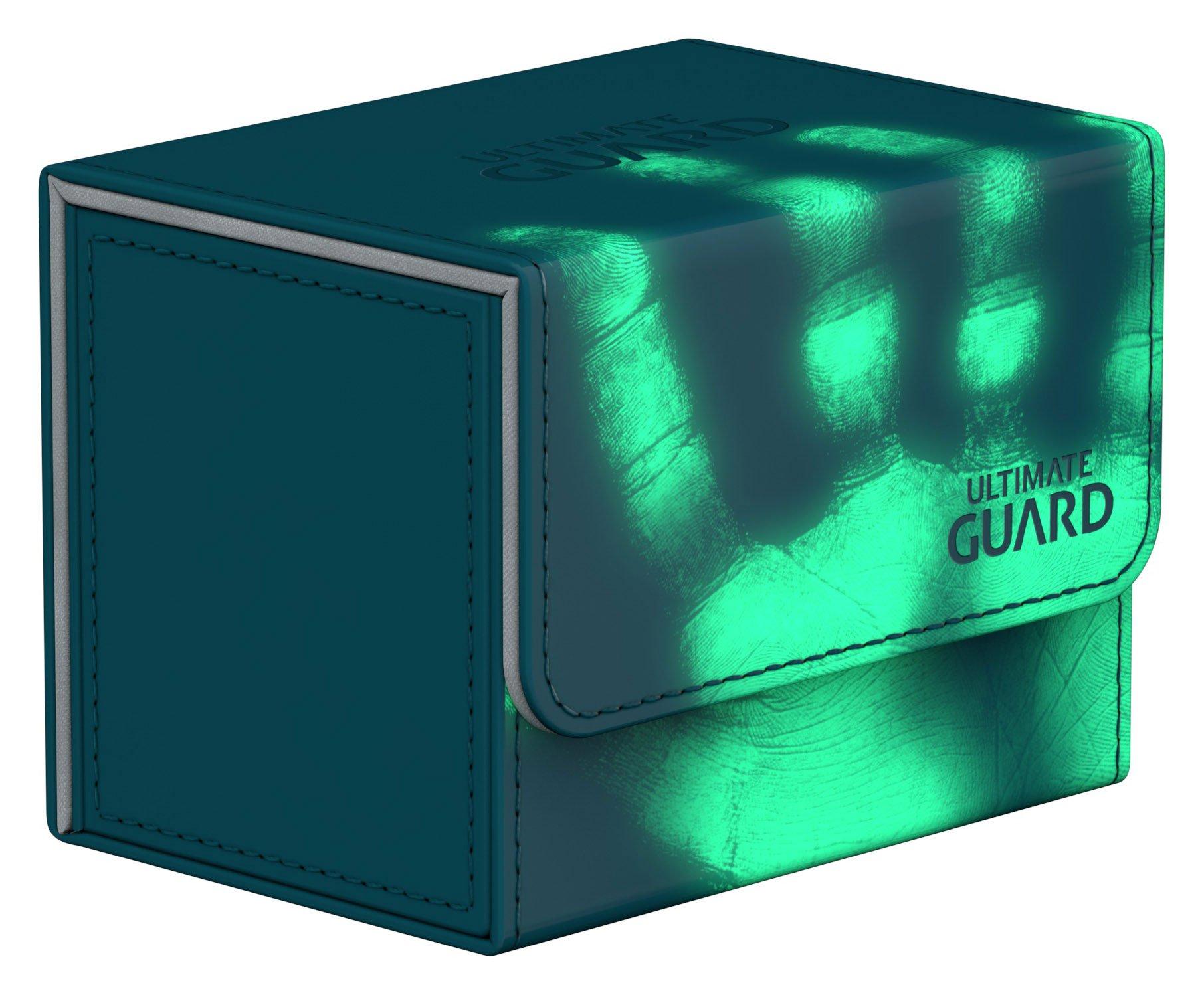 Sidewinder 80+ Standard Size Chromiaskin Radioactive - Petrolblau by Ultimate Guard