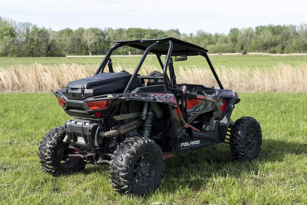 93026 Rough Country Custom Fit Cargo Box for 2 or 4 Seater 13-20 Polaris RZR 1000XP