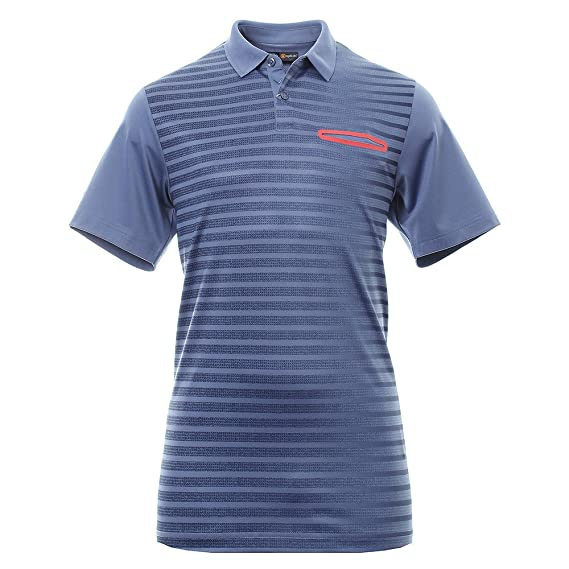 Callaway Ombre Pocket Polo de Golf, Hombre, Azul, M: Amazon.es ...