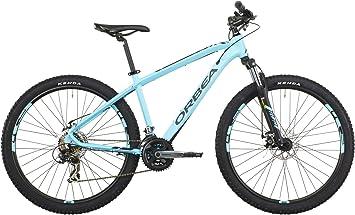 ORBEA Bicicleta Montaña MX 50, 27 Pulgadas, Talla L, Azul: Amazon.es: Deportes y aire libre
