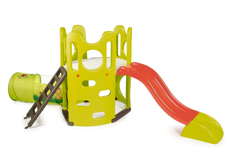 Garten Spielplatz - Smoby Spielturm mit Rutsche