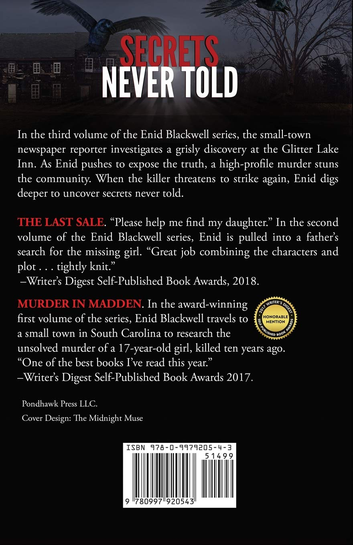 Amazon com: Secrets Never Told (Enid Blackwell