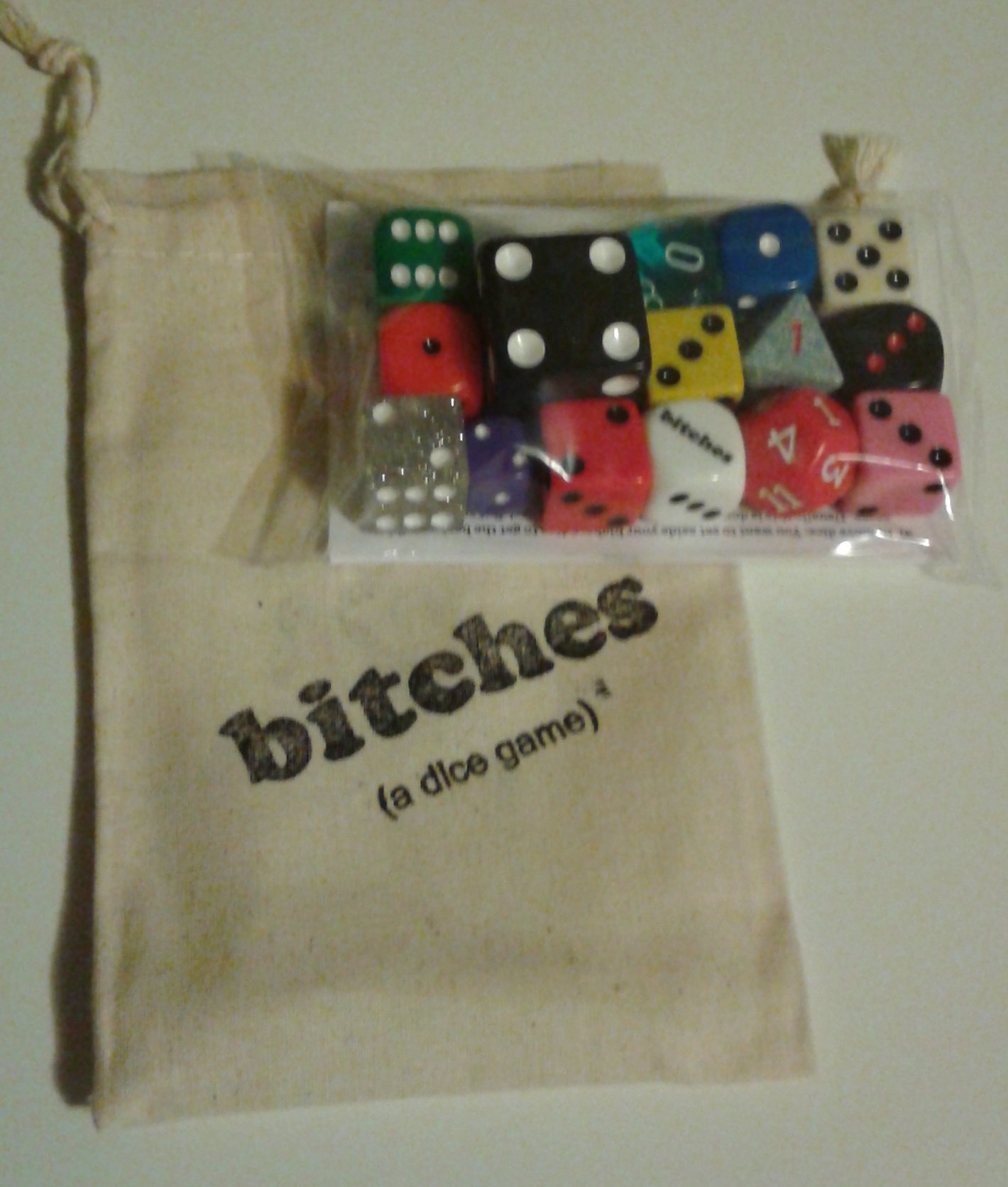 bitches (a dice game)