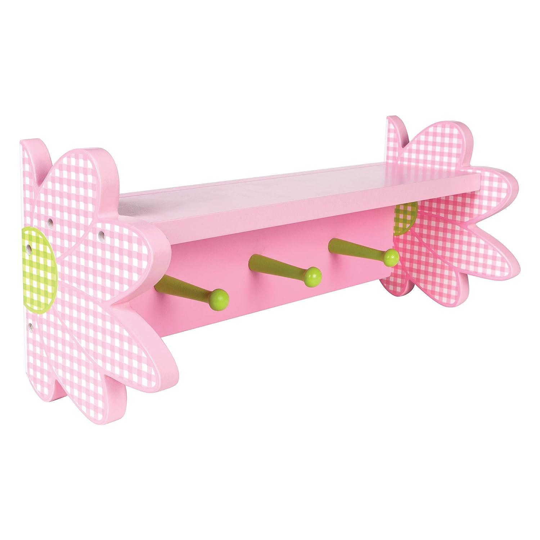 Trend Lab Daisy Shelf with Peg Hooks 100523 A771B72B