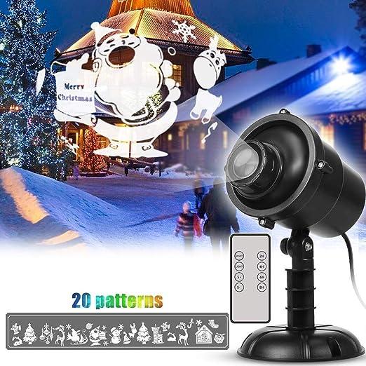 Z·Bling Luces de Proyector de Navidad de Halloween,proyector de 20 ...