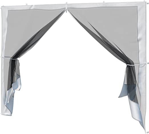 paramondo Pared Lateral mosquitera Puerta para Gazebo Carpa de ...