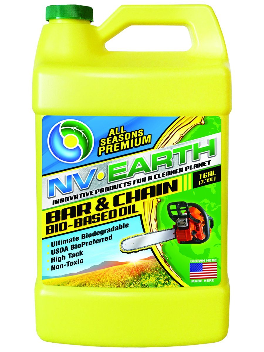 NV Earth Biodegradable Bar & Chain Oil - Gallon by NV Earth