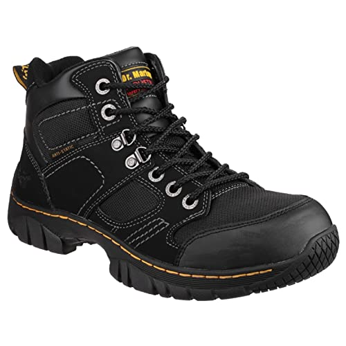Dr Martens Mens Benham Nubuck Work Safety Boots Black