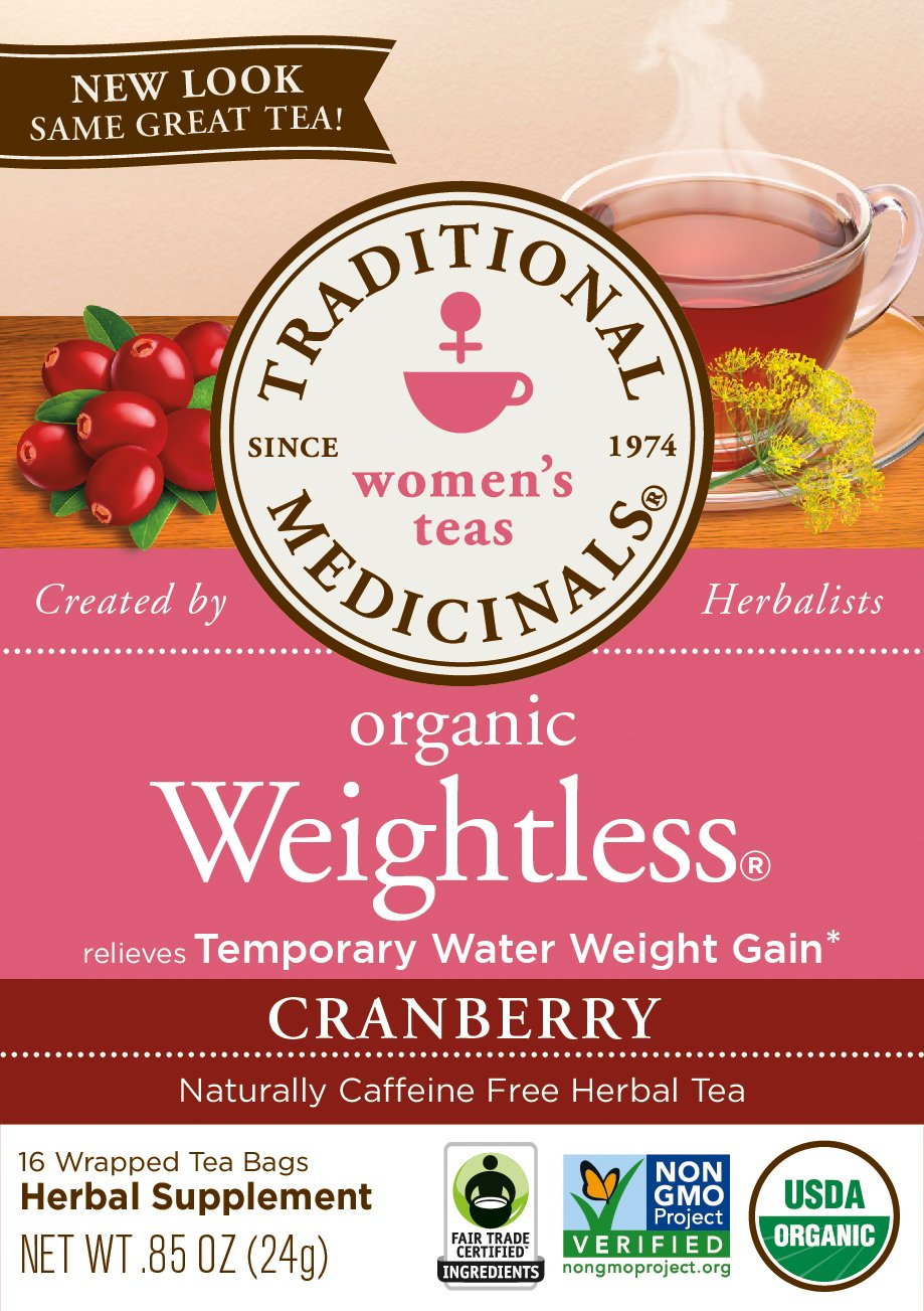 Traditional Medicinals Organic Weightless Cranberry Women's Tea, 16 Tea Bags (Pack of 6) by Traditional Medicinals (Image #3)