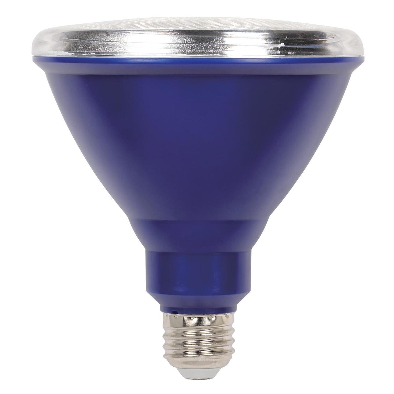 6 Pack Six 33149 Westinghouse Lighting 3314920 100-Watt Equivalent PAR38 Flood Green Outdoor Weatherproof LED Light Bulb with Medium Base