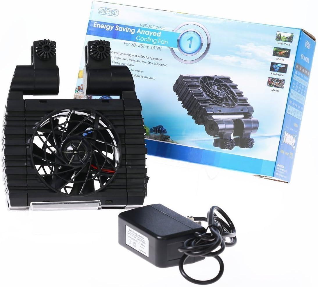 ISTA Aquarium Energy Saving Arrayed Cooling Fan ColdWind for 30~45cm fish tank