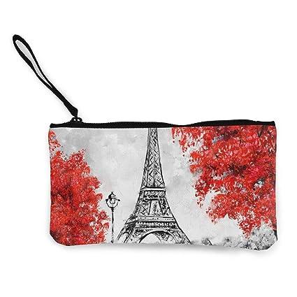 Pintura al óleo París Ciudad Europea Paisaje Francia Cartera ...