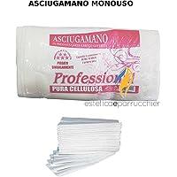 60 Asciugamani Monouso in Carta a Secco Goffrata Asciugamano Professionale Estetica e Parrucchiere 40x70cm