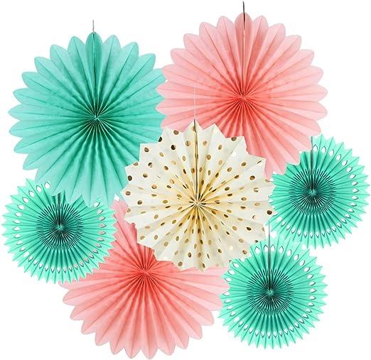 Amazon.com: SUNBEAUTY Kit de decoración de papel de seda ...
