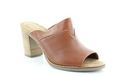 da4b79a2266 TOMS Womens Majorca Mule Cognac Leather Size 5
