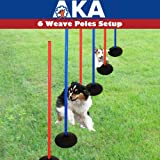 AKA Agility Training Set | Weave Pole