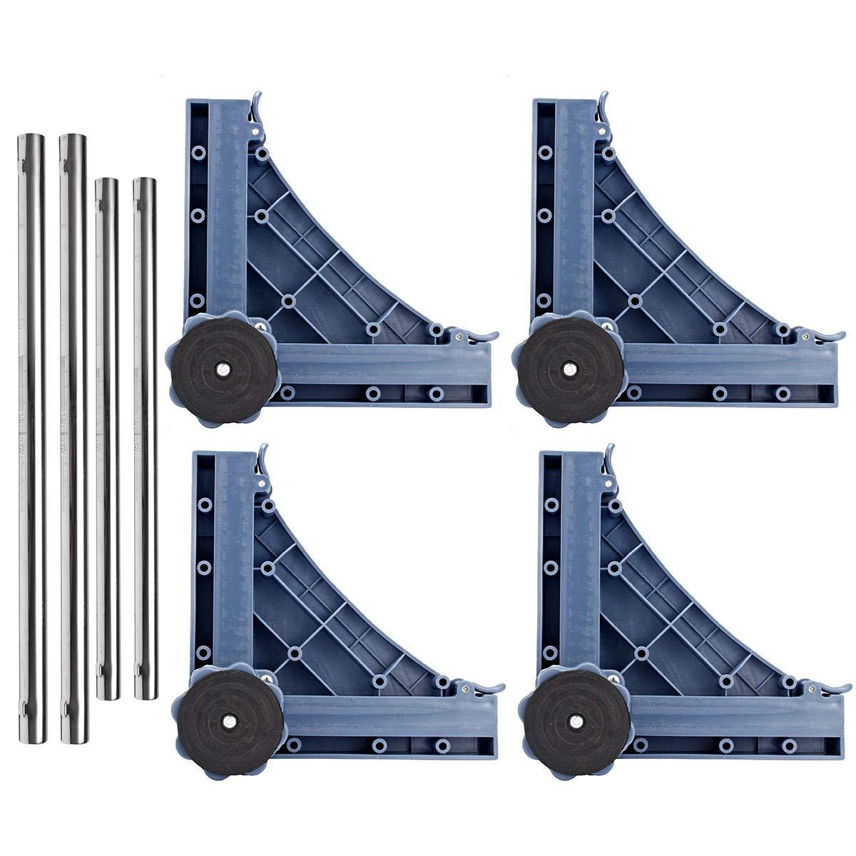 Refrigerator Undercarriage Bracket Stand Adjustable - 1PCs