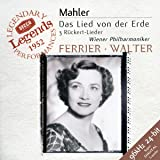 Mahler : Das Lied von der Erde (Le Chant de la terre) - 3 Rückert-Lieder / Ferrier - Walter