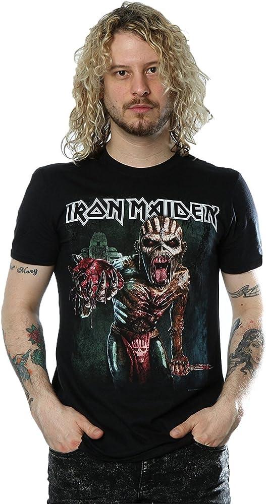 Iron Maiden Book of Souls Europe ~ Tour 16 - Camiseta oficial en todas las tallas: Amazon.es: Ropa y accesorios