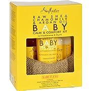 Shea Moisture Raw Shea Chamomile & Argan Oil Baby Calm & Comfort Kit w/Frankincense & Myrrh