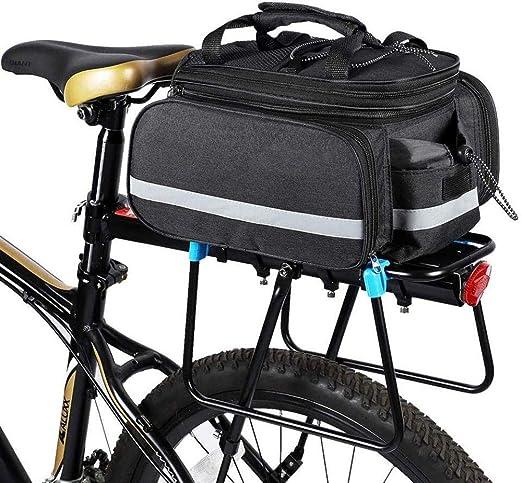 HH-HK Alforja para Bicicleta Bolsa De Asiento para Bastidor De ...
