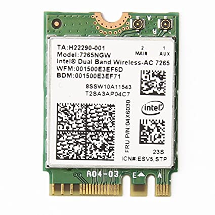 intel ac 7265 driver only
