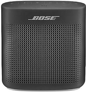Bose SoundLink Color II 752195-0100 Bluetooth Speakers (Soft Black) Bluetooth Speakers at amazon
