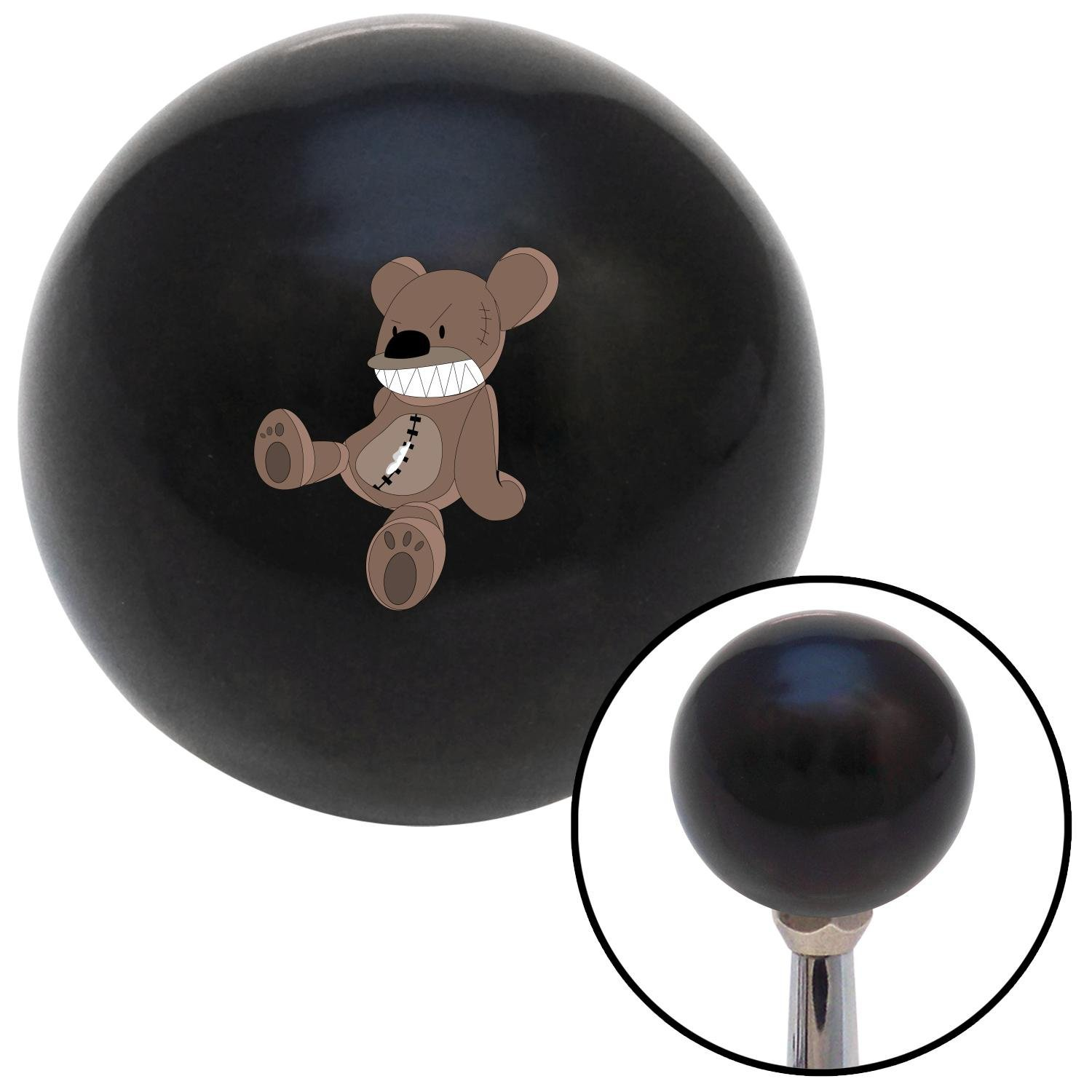Angry Teddy 2 American Shifter 107587 Black Shift Knob with M16 x 1.5 Insert