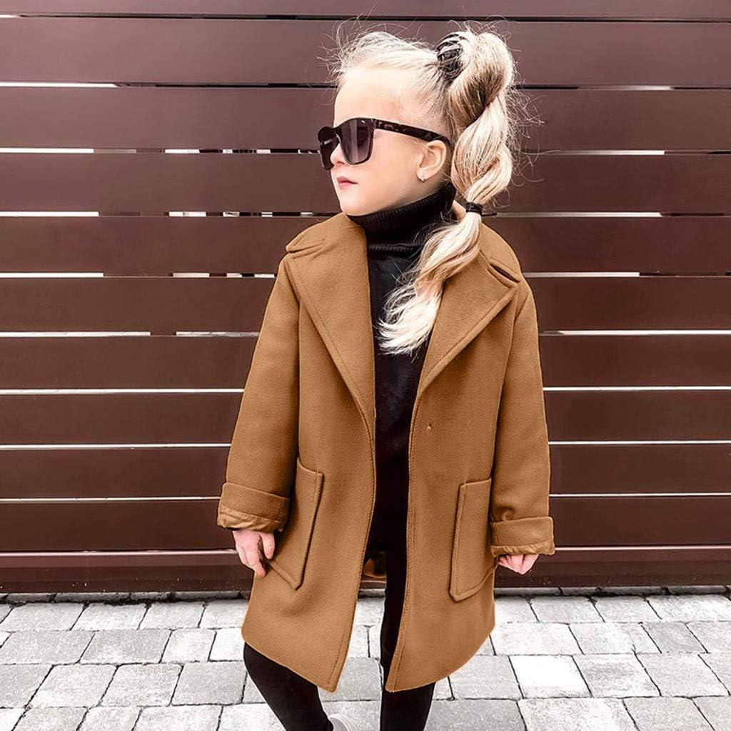 Tronet Baby Winter Warm Coat Toddler Baby Girls Long Sleeve Winter Solid Windproof Coat Warm Outwear Jacket