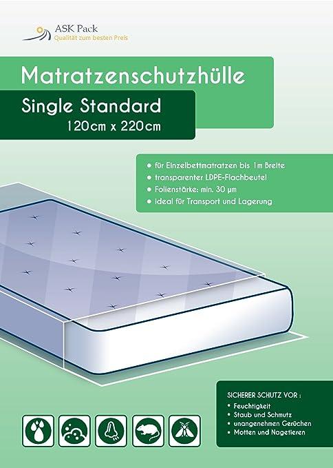 Bolsa de Colchón Single para 100cm Colchón - protección sencilla para el traslado,