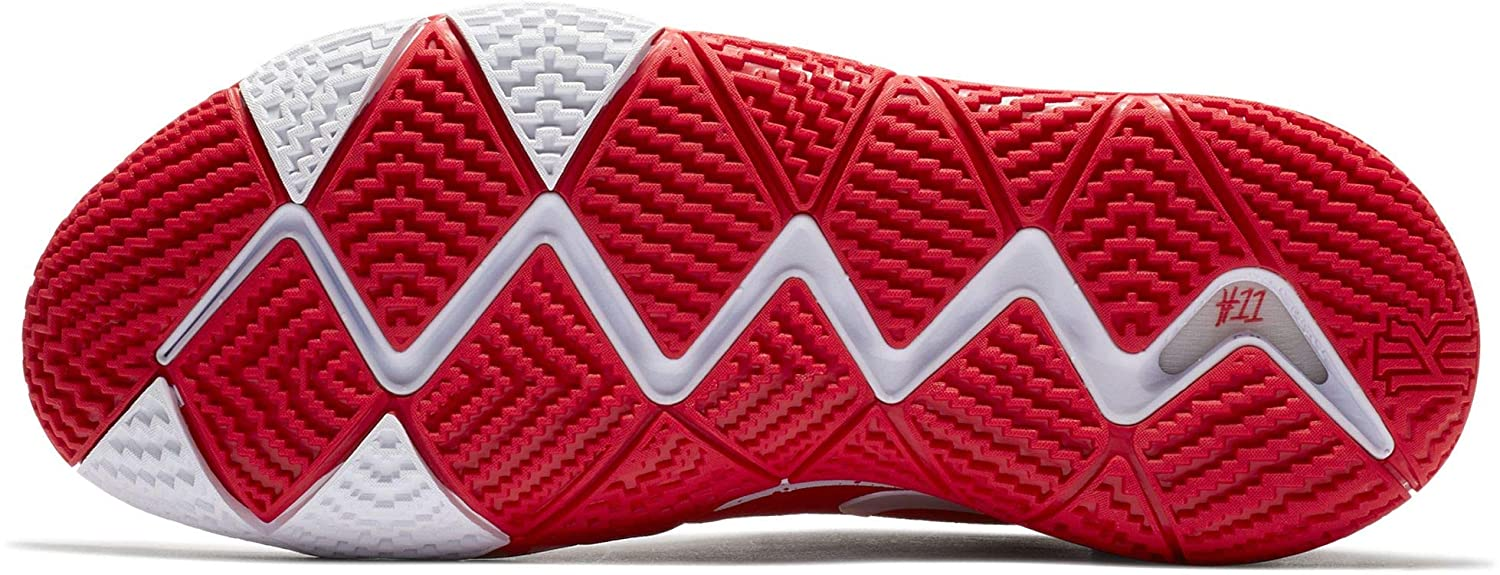 0a824884873496 Amazon.com  Nike Men s Kyrie 4 TB Basketball Shoes (University Red White