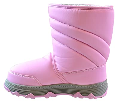 Womens Neptune Closed Toe Mid-Calf Cold Weather Boots