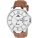 Armado Analogue White Dial Men's Watch - Ar-042-Wht