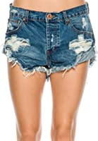 One Teaspoon Women's Bad Seed Bandits Shorts