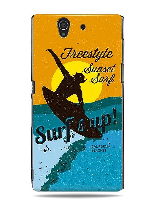 "GRÜV Case Design ""Tabla de Surf de California Surfs Up"" - Diseñador Mejor"