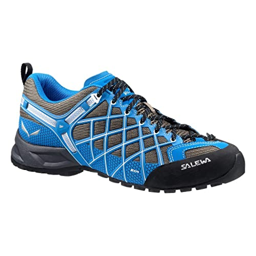 UK Outlet - Salewa Wildfire S Gore-Tex Blue Mens mountain climbing shoes