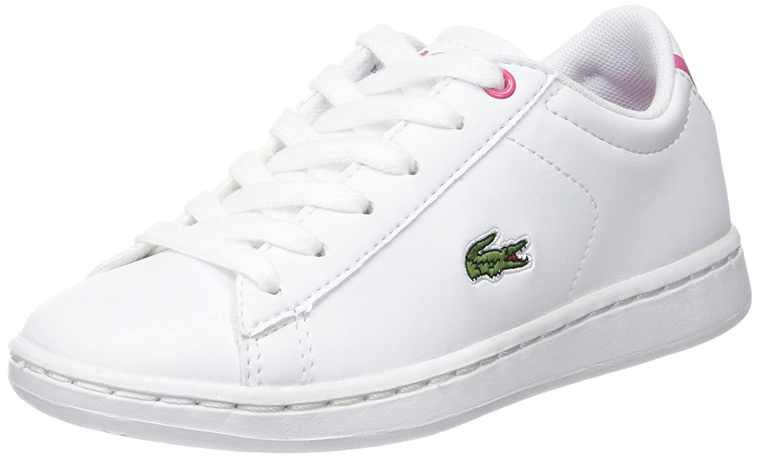 Lacoste Carnaby Evo BL 1, Baskets Basses Mixte Enfant