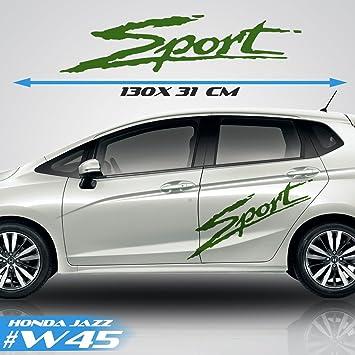 Honda Jazz Car Side Stripes Car Stickers Graphics Vinyl Decal Sport