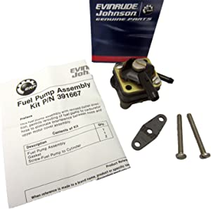 Evinrude Johnson OEM BRP OMC Fuel Pump Assembly Kit 388685
