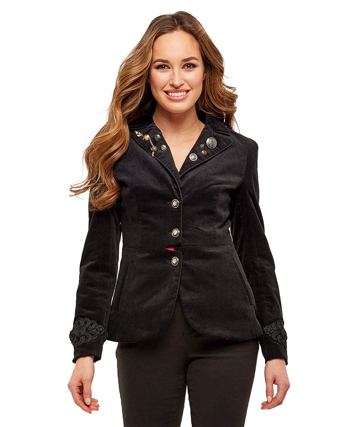 Joe Browns Womens Decorative Fully Lined Blazer Jacket WJ188