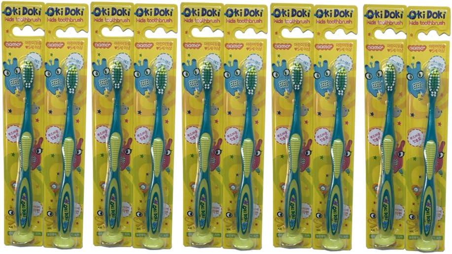 Oki Doki - Cepillo de dientes para niños pequeños (10 unidades ...