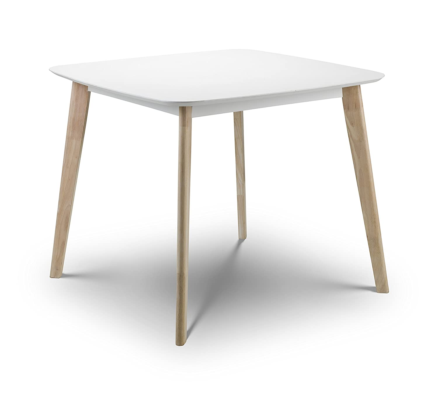 Julian Bowen Casa Dining Table, White CAS101
