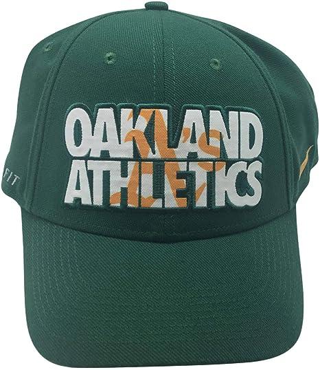 5977bbd8579 ... promo code for mlb oakland athletics nike dri fit one fit flex hat  e07df 5926f