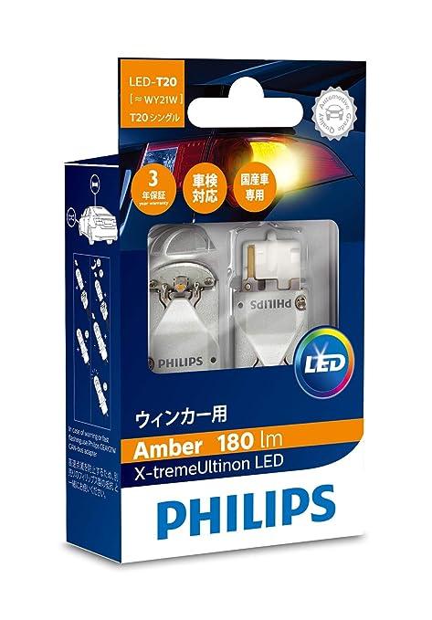 Philips X-treme Ultinon LED bombilla de señalización para coche 12763X2 - Bombilla para coches